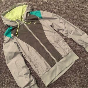 Nike Hooded Windbreaker Coat | S